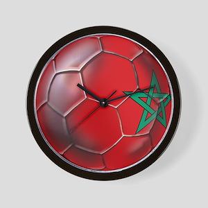 Moroccan Soccer Ball Wall Clock