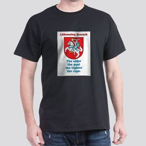 The Older The Goat - Lithuanian Proverb T-Shirt