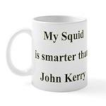 My Squid is smarter than John Kerry Mug