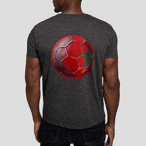 Moroccan Soccer Ball Dark T-Shirt