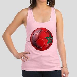Moroccan Soccer Ball Racerback Tank Top
