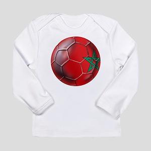 Moroccan Soccer Ball Long Sleeve Infant T-Shirt