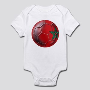 Moroccan Soccer Ball Infant Bodysuit
