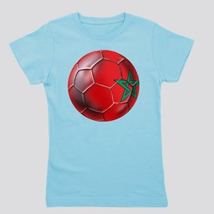 Moroccan Soccer Ball Girl's Tee
