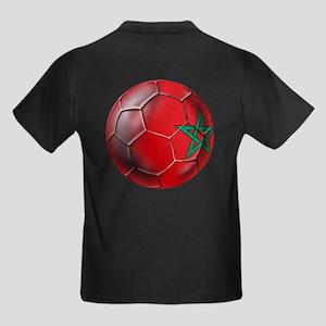 Moroccan Soccer Ball Kids Dark T-Shirt