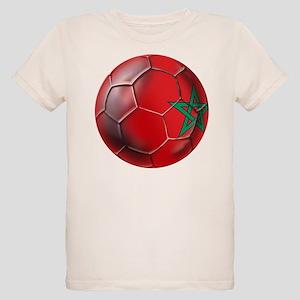 Moroccan Soccer Ball Organic Kids T-Shirt
