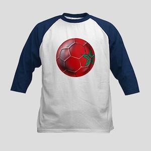 Moroccan Soccer Ball Kids Baseball Jersey