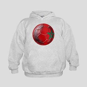 Moroccan Soccer Ball Kids Hoodie