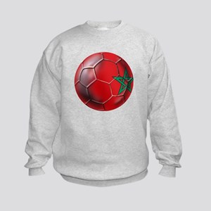 Moroccan Soccer Ball Kids Sweatshirt