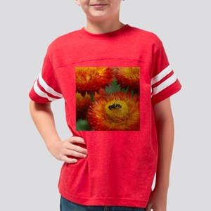 flower-fly-pillow Youth Football Shirt
