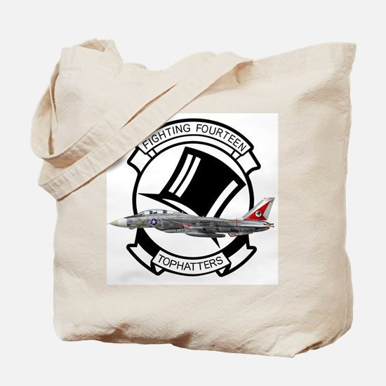 VF-14 Tophatters Tote Bag