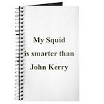 My Squid is smarter than John Kerry Journal
