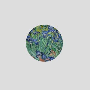 Irises Mini Button