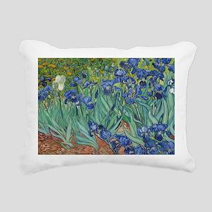 Irises Rectangular Canvas Pillow