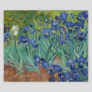 Irises King Duvet