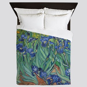 Irises Queen Duvet