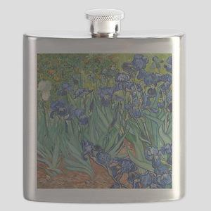 Irises Flask
