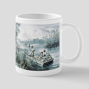 Floating down to market - 1870 11 oz Ceramic Mug