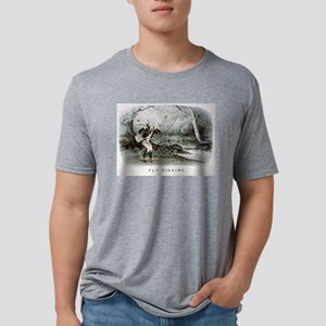 Fly fishing - 1879 Mens Tri-blend T-Shirt