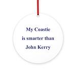 My Coastie is smarter than John Kerry Ornament (R