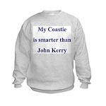 My Coastie is smarter than John Kerry Kids Sweats