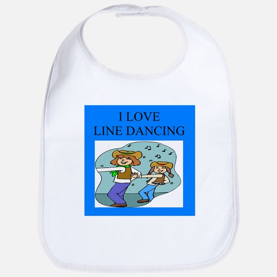 line dancing gifts and t-shir Bib