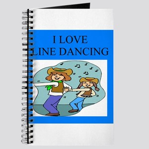line dancing gifts and t-shir Journal