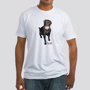 play ball Fitted T-Shirt