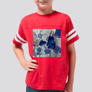 SeaGlass17 Youth Football Shirt