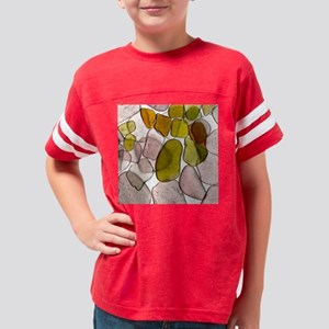 SeaGlass18 Youth Football Shirt