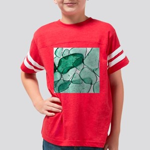 SeaGlass22 Youth Football Shirt