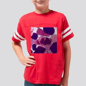 SeaGlass8 Youth Football Shirt