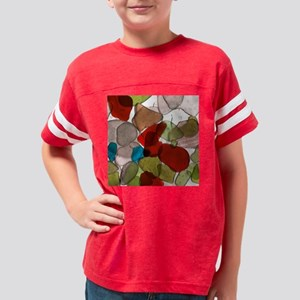 SeaGlass9 Youth Football Shirt