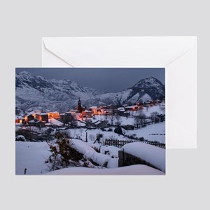 Night in Alles Greeting Card