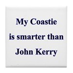 My Coastie is smarter than John Kerry Tile Coaste