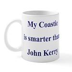 My Coastie is smarter than John Kerry Mug