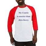 My Coastie is smarter than John Kerry Baseball Je
