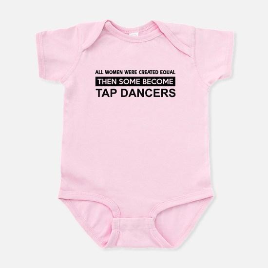 tap dance designs Infant Bodysuit
