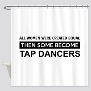 tap dance designs Shower Curtain