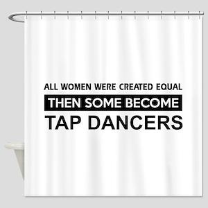 tap dance designs Shower Curtain