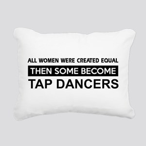 tap dance designs Rectangular Canvas Pillow