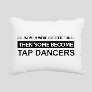 tap dance designs Rectangular Canvas Pillow