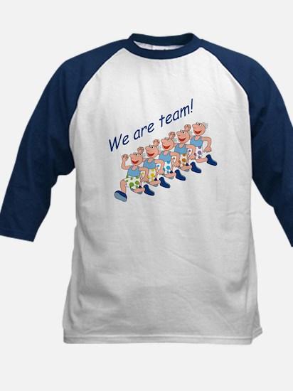 Running Team Kids Baseball Jersey