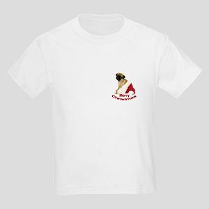 Holiday Pug Kids T-Shirt