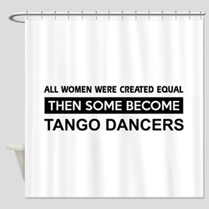 tango dance designs Shower Curtain