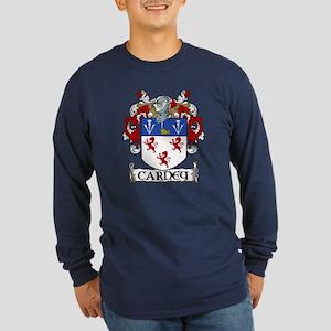 Carney Coat of Arms Long Sleeve Dark T-Shirt