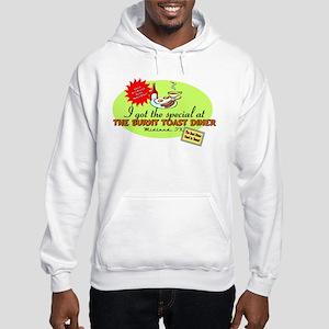 Burnt Toast Diner Hooded Sweatshirt