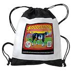 googeradio design ALIVE Drawstring Bag