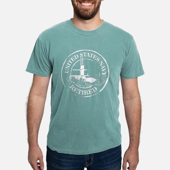 U.S. Navy Retired (Submarine) Mens Comfort Colors