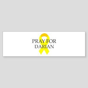 Pray for Darian Bumper Sticker
